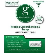 Reading Comprehension & Essays GRE Strategy Guide (Manhattan GRE Preparation Guide Reading Comprehension & Essays) By (author) Manhattan Gre, By (author) Manhattan Gmat -Free worldwide shipping of 6 million discounted books by Singapore Online Bookstore http://sgbookstore.dyndns.org