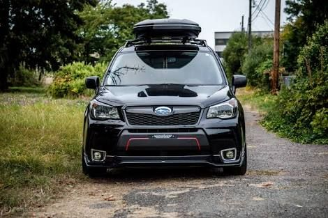 subaru forester black sport grill - Google Search