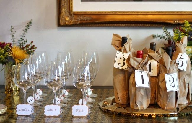 Blind Wine Tasting Party: Holidays Parties, Club Parties, Shower Games, Wine Tasting Parties, Wine Parties, Wine Glass, Blinds Wine, Bridal Shower, Parties Ideas