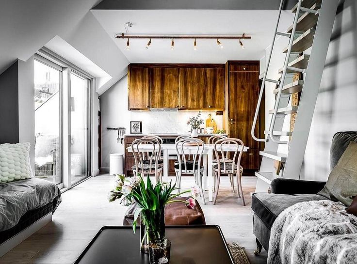 Fantastic use of space, including the attic!