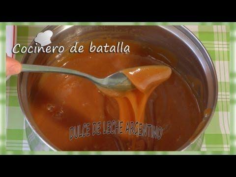 """Dulce de leche casero. """"Dulce de leche argentino casero tradicional"""". - YouTube"""
