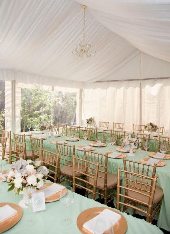 Mint Green Tablecloth Table Cloth Table Runners Wedding Decor