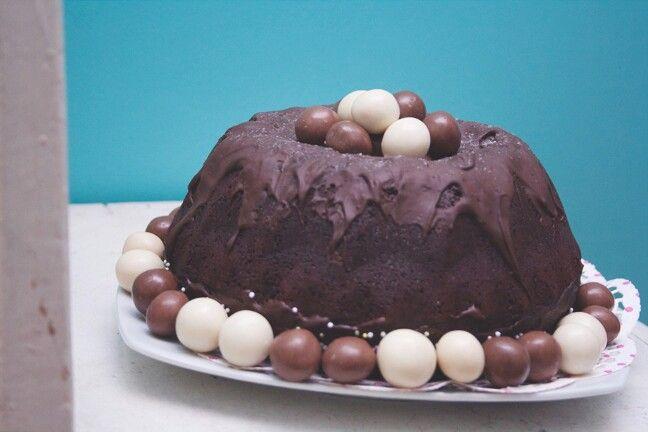 Bundt de chocolate. Visit: unpocodecrema.blogspot.com