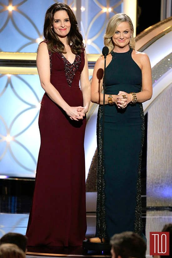 Tina Fey and Amy Poehler at the 2014 Golden Globe Awards | Tom & Lorenzo Fabulous & Opinionated