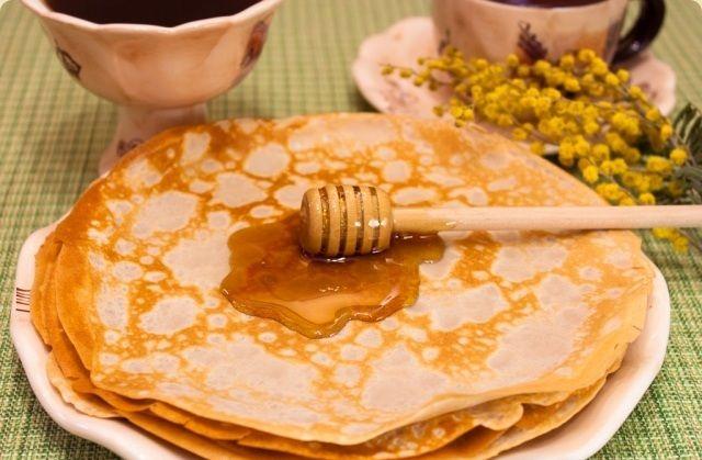 Boekweitpannenkoeken met honing recept | Beste Recepten