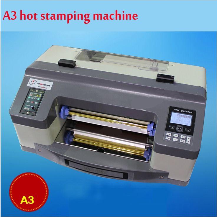 1611.40$  Buy here - http://aliate.worldwells.pw/go.php?t=32649865688 - DC-300TJ Pro Digital foil printer Digital flatbed printer hot stamping machine Digital printer