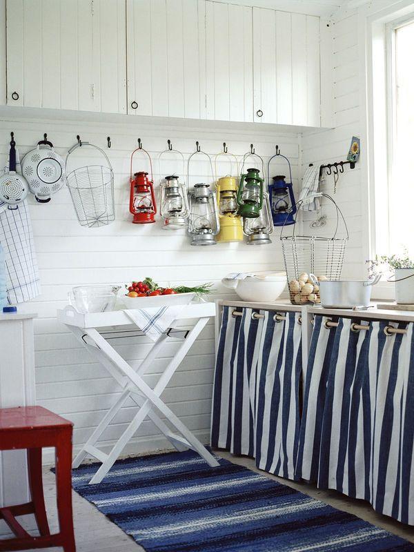 Zasłonka w szafkach kuchennych