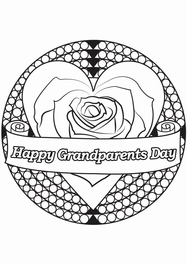 Grand Parents Day Coloring Pages Heart For Kids In 2020 Valentines Day Coloring Page Heart Coloring Pages Valentine Coloring Pages
