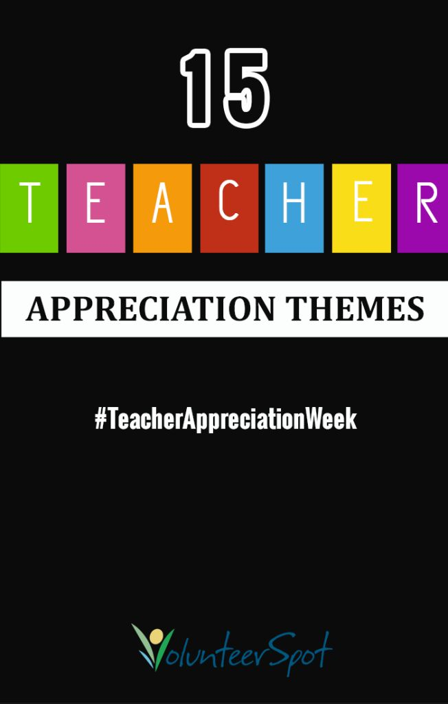 Teacher Appreciation Week Themes