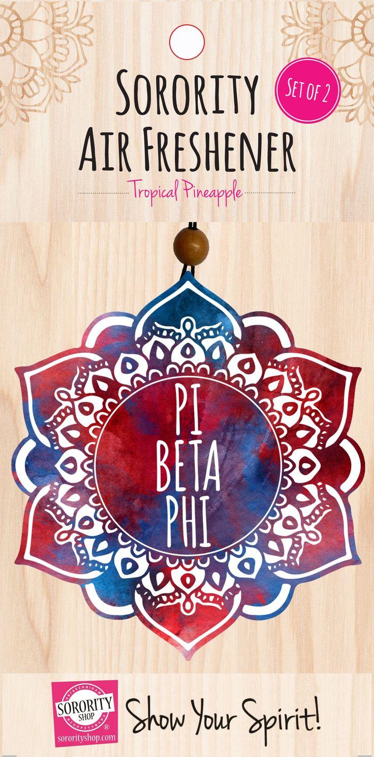 Pi Beta Phi Mandala Air Freshener 2/Package