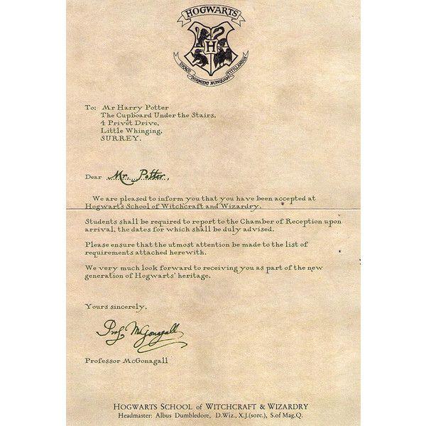 14 best custom personalized harry potter hogwarts letter for Harry potter personalized letter