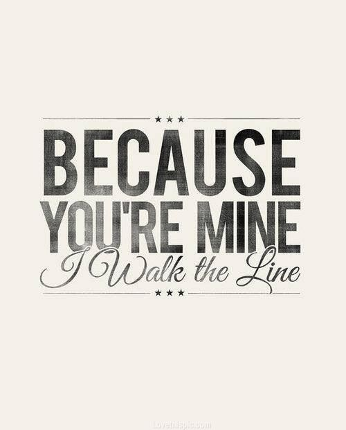 I walk the line quotes music country song lyrics