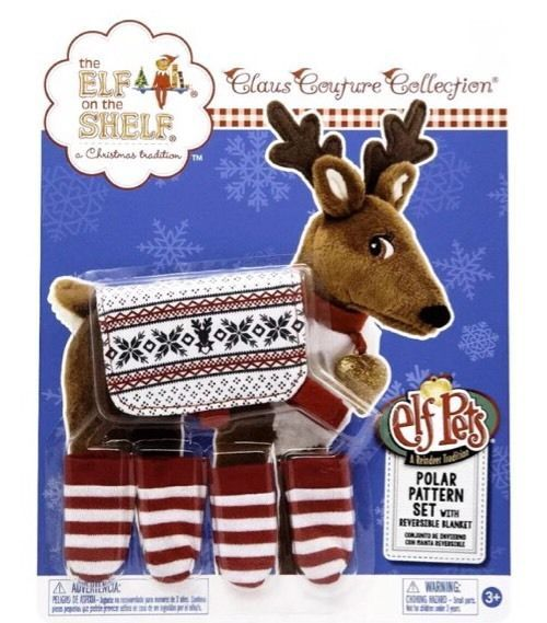 Pet Reindeer Elf On The Shelf Clothes Clothing Attire Set 2015 New In Package