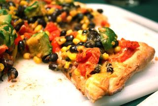 Southwestern Veggie Pizza - Country Cleaver