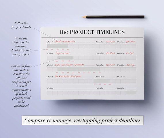Viac ako 25 najlepších nápadov na Pintereste na tému To do liste - project timelines