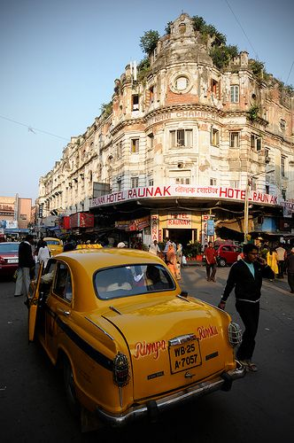 i miss the buildings and those famous yelllow taxis