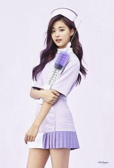 Cute nurse tzuyu