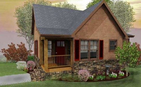 rustic-small-cabin-design-floor-plan