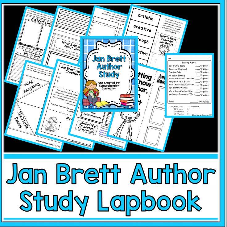 Jan Brett Author Study   AUTHOR STUDY   Author studies ...