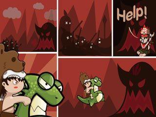 Jogue Stone Age Rescue online no Lejogos! Oh não, o assustador Alzuhu raptou o filho do Chefe e agora o mantém como um prisioneiro! Você tem que se apressar, então monte set pet dinossauro e lute c
