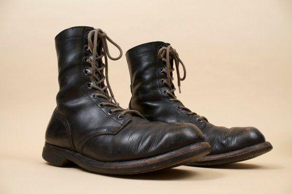 combat distressed boots mens