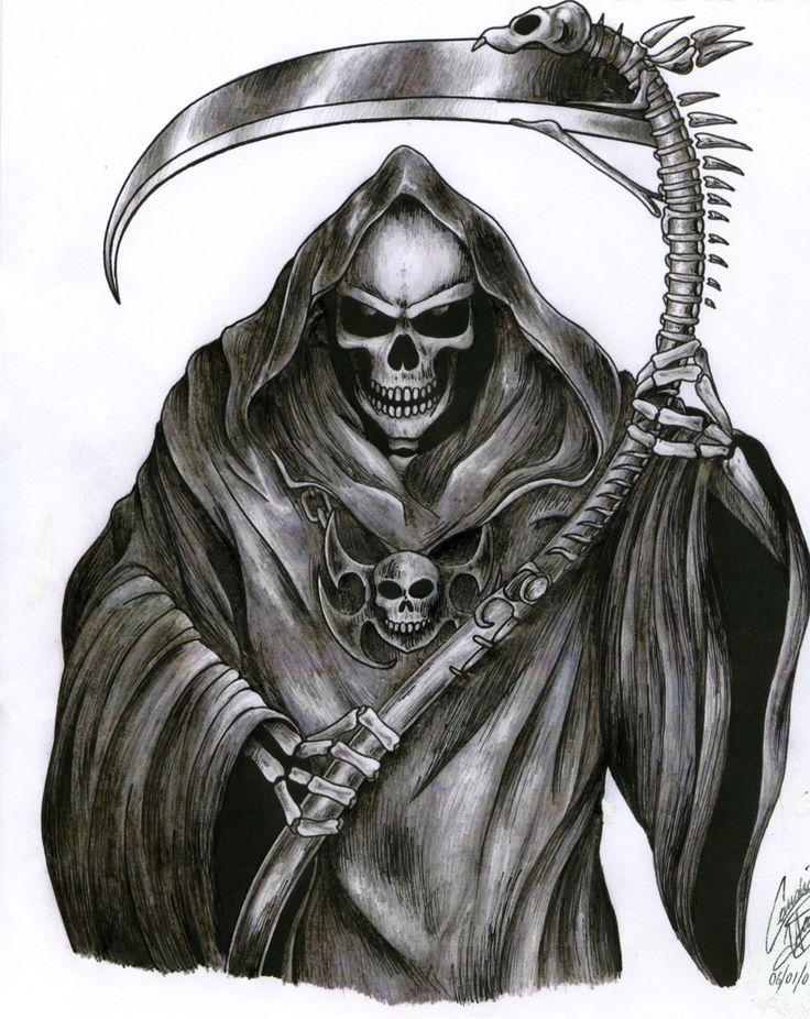 Картинки эскизы смерти