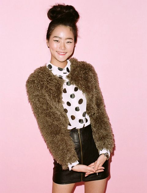 My new favorite model: Hyoni Kang