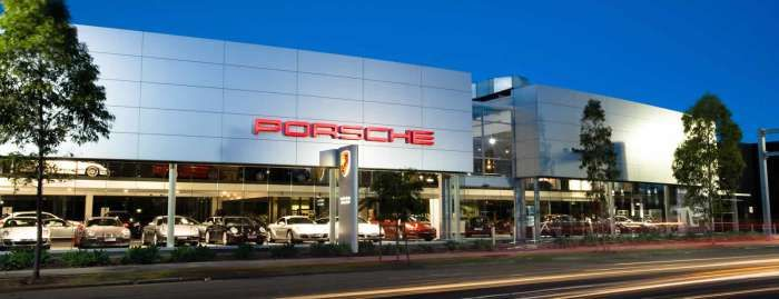 car highway showroom architecture - Google Search
