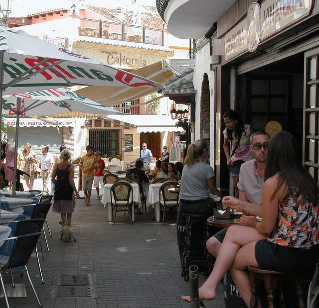 I am not remotely a culinary snob. Eat what you like. All I ask is that if you are on holiday in Nerja remember that you are in Spain. Do spend some of your time eating the wonderful Spanish food being served up there.