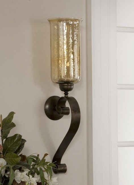 Tall Glass Wall Sconces : 30