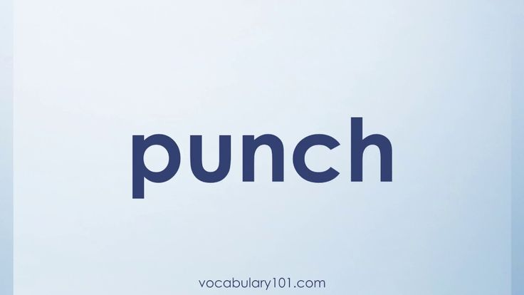 punch Meaning and Example Sentence   Learn English Vocabulary Word with Definition