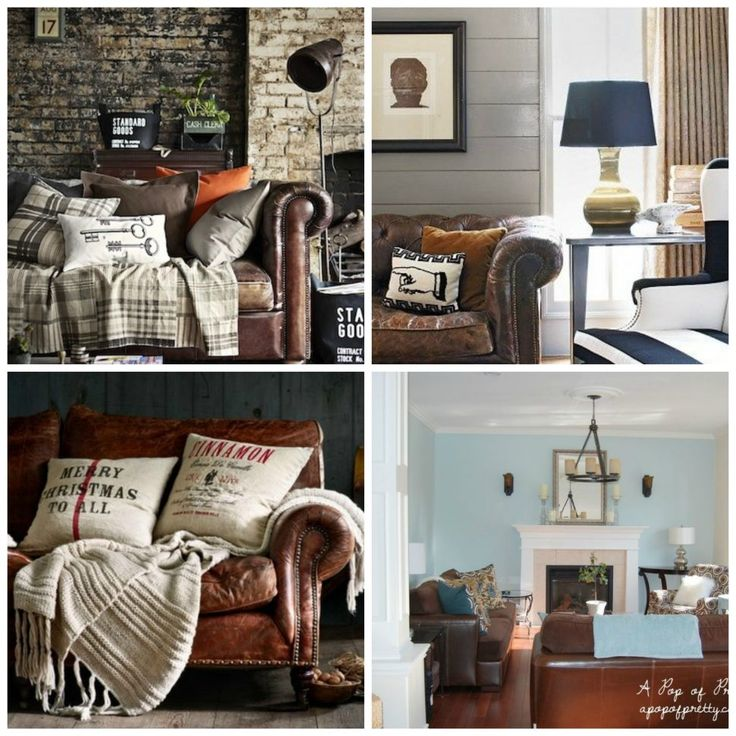 :53 Vintage Leather Sofa House Ideas 1000 Images About House Ideas On  Pinterest Grey Walls Part 90