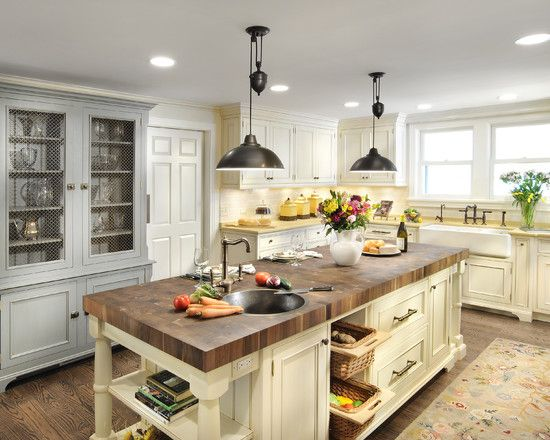 Traditional Country+kitchen+chicken Design, Pictures, Remodel, Decor and Ideas