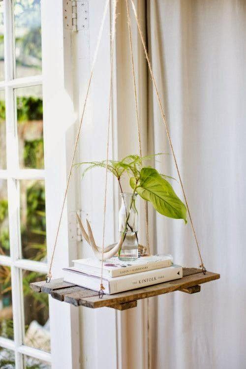 Une table de nuit balançoire Découvrir design via Nat et nature