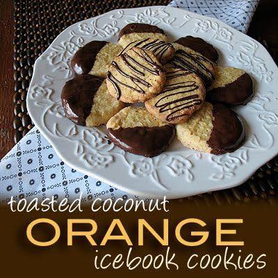 Paleo Coconut Icebox Cookies