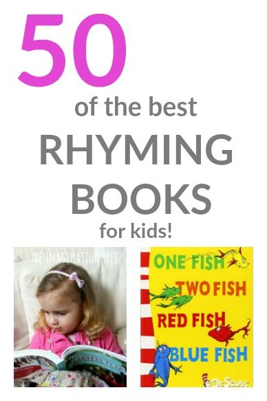 Here's a list of the best rhyming books for kids from babies to older school age. Rhyming books for kids are so important for early literacy skills.