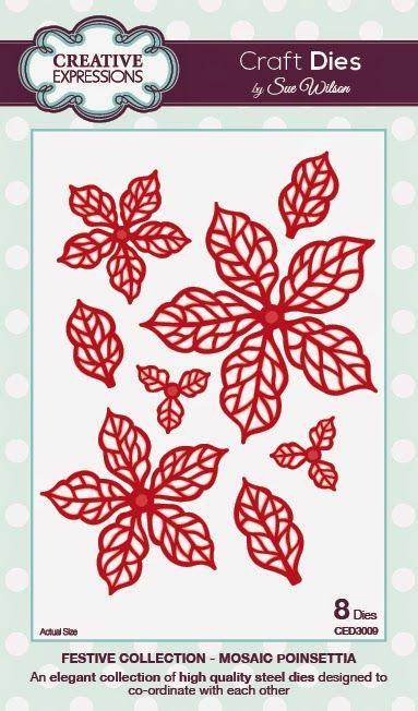 PartiCraft (Participate In Craft): Classic Poinsettia and Mosaic Poinsettia
