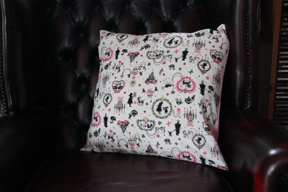 Alice in Wonderland  Inspired Cushion Cover
