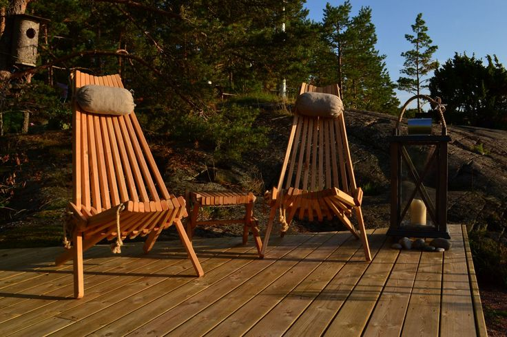 NorDeck chairs for Nordic sunset!