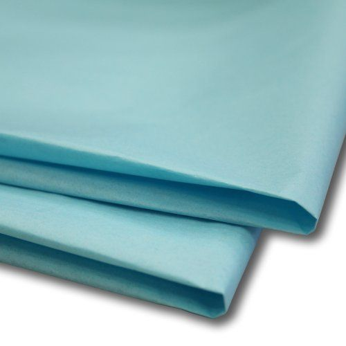 """10 Sheets Blue Acid Free Tissue Paper 20/"""" x 30/"""" Packaging 500 x 750mm 18GSM"""