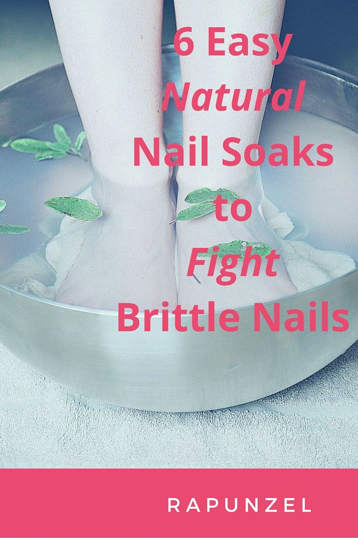 If you have experienced trying to grow out your nails only to break them soon, then these all natural nail soaks can be the solution that you've been looking for! http://www.simplyrapunzel.com/blogs/rapunzel/115278084-6-easy-natural-nail-soaks-to-fight-brittle-nails