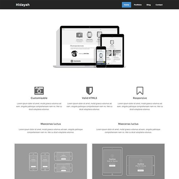120 best free bootstrap html templates images on Pinterest | Website ...