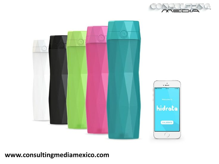 LA MEJOR AGENCIA DIGITAL. Ahora  existe un nuevo y espectacular invento llamado 'HidrateMe'. Es una botella inteligente que te ayuda a mantenerte hidratado. Esto funciona gracias a una aplicación en el Smartphone que se conecta vía bluetooth a esta botella donde te avisa cada cuando debes tomar agua. https://www.youtube.com/watch?t=16&v=pHEKbsMtYRY  #redessociales
