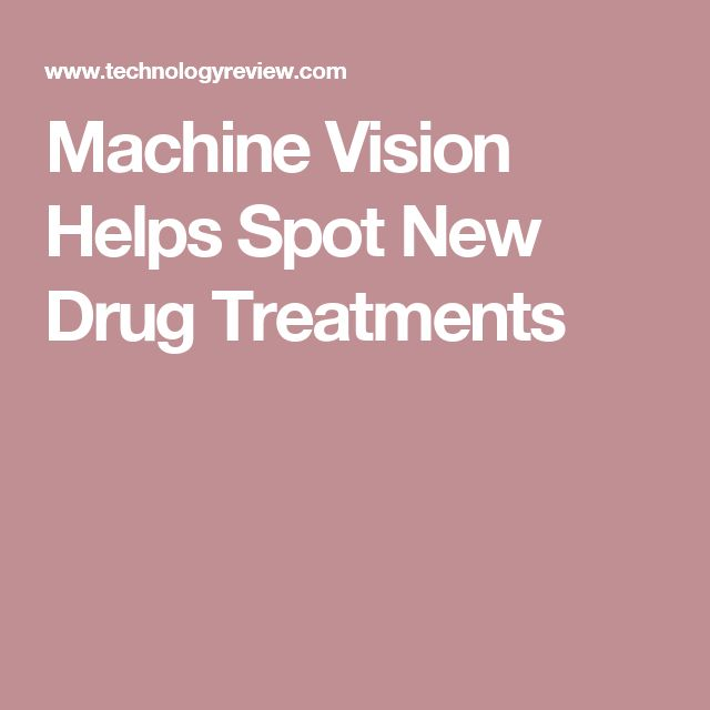 Machine Vision Helps Spot New Drug Treatments