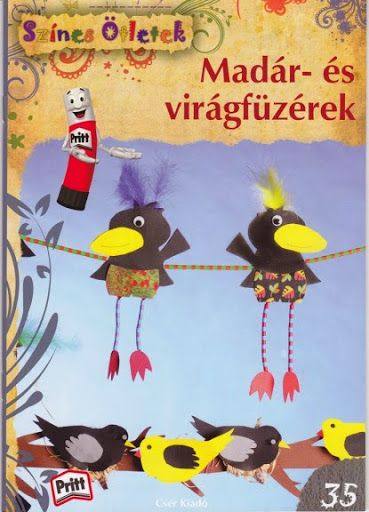 Színes ötletek madár és virágfüzérek - Angela Lakatos - Picasa Webalbumok