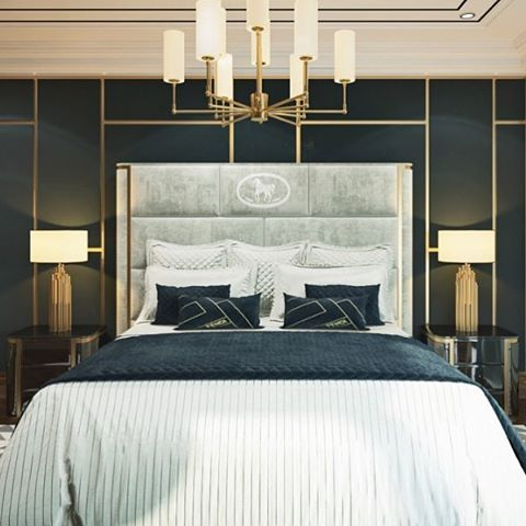 Вот такое сонное царство для квартиры в Кисловодске сделали. Люблю высокие и роскошные кровати) #диана_тараканова #дизайнспальни #интерьерспальни