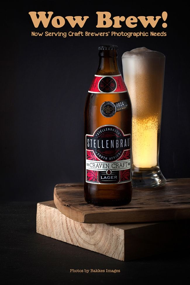 NEWS: Styling Craft Brew Photography Bakkes Images is fast becoming the preferred photographers for Craft Beer brands. Apart from the much needed Standard Pack Shots of the product our clients are also exploring beautiful styled images of their products - perfect for advertising below and above the line. Stellenbrau, an established client of Bakkes Images recently had some moodier shots done and gained tremendously with the visuals created.