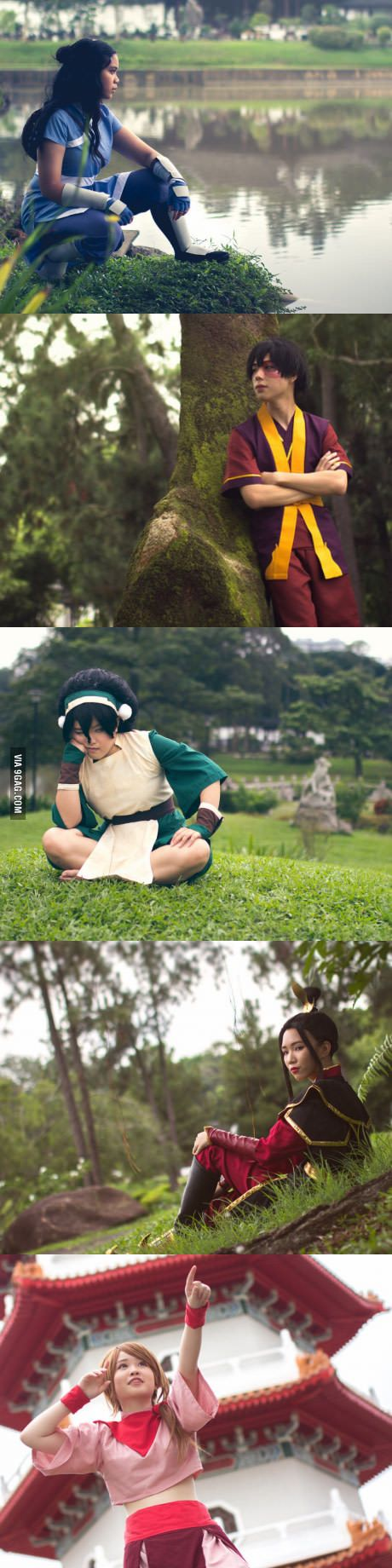 Avatar: The Last Airbender cosplays!