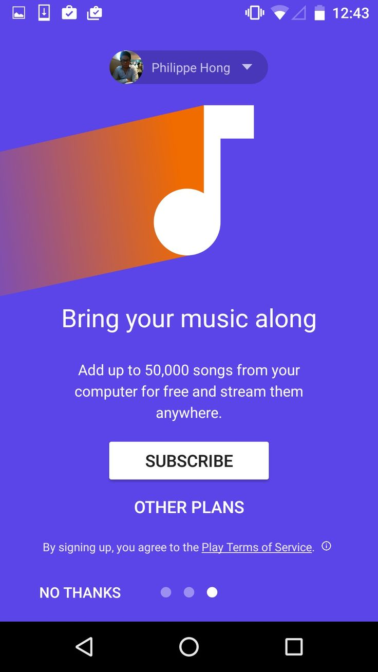 Onboarding by @google music #ui #inspiration #interface #materialdesign #design #android - UI Garage - The database of UI
