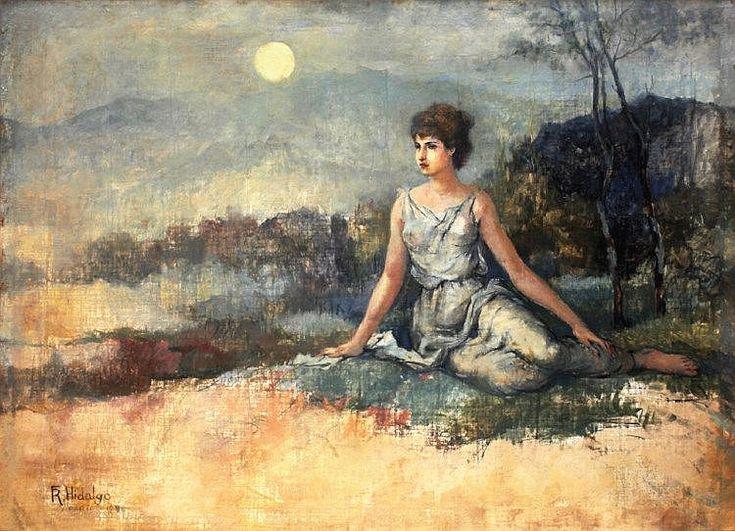 Felix Resurreccion Hidalgo Works on Sale at Auction & Biography ...
